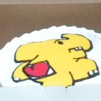elephant run cake