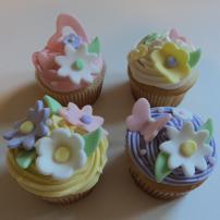 Mila's Birthday Cupcake