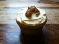 maple walnut cupcakes