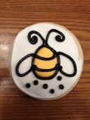 bumble bee shower cookies