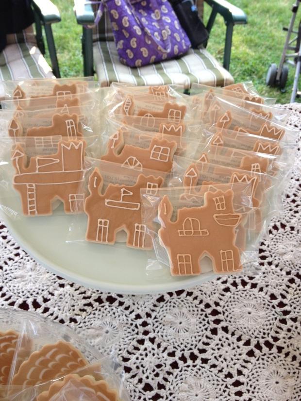 sand castle cookies